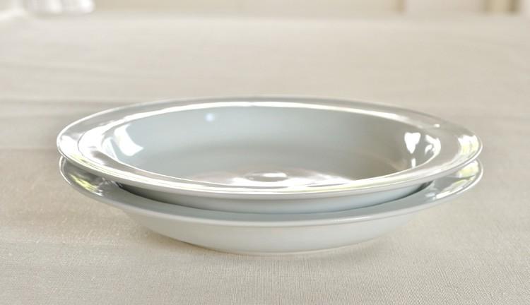 白磁ピューター皿