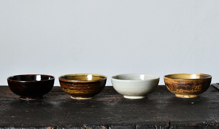 鉄彩丸小鉢(4.5寸)