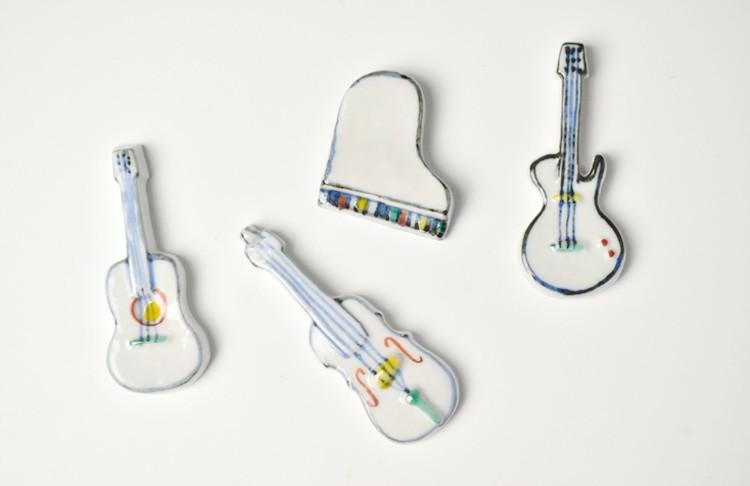 楽器箸置き