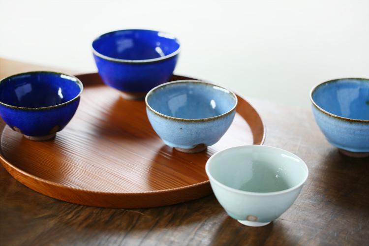 蜜柑釉茶碗