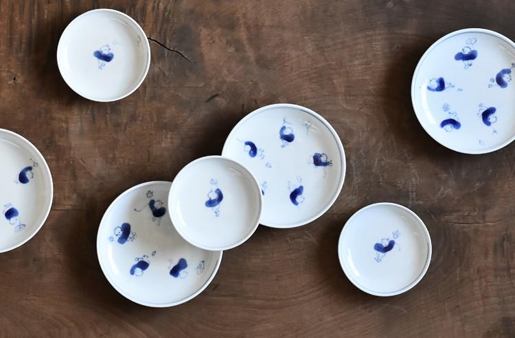 唐子小皿(3.5寸)