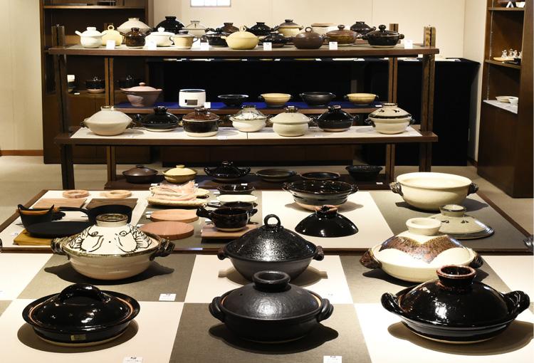 土鍋展 展示画像