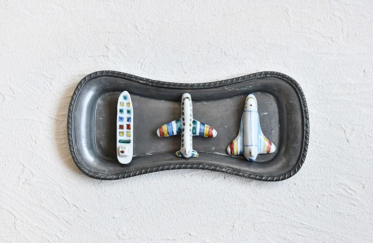 箸置 旅客機