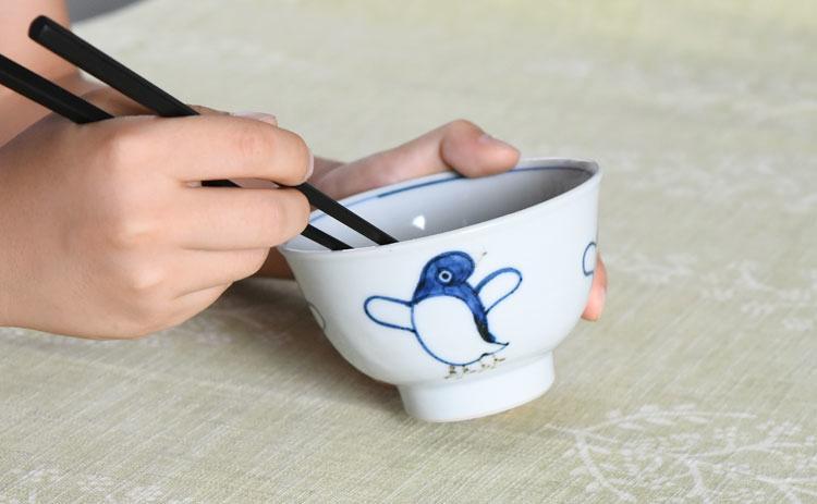 ご飯茶碗(ペンギン)