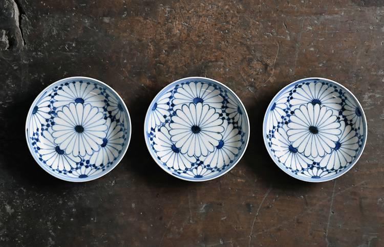 菊文5寸皿