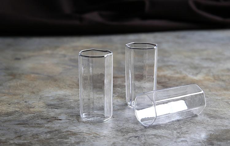 1 七角グラス細