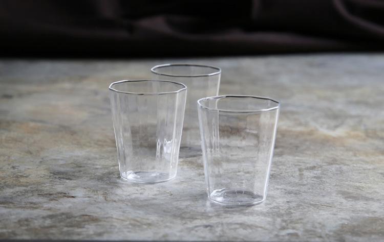 2 十一角グラス小