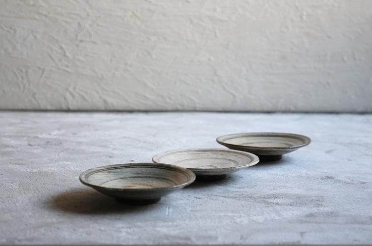 26 線象嵌4.5寸皿