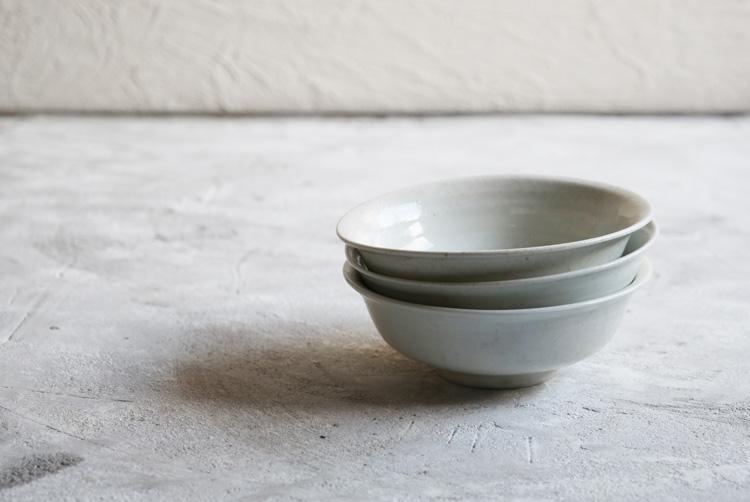 45 白磁5寸鉢