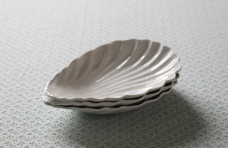 シェル7.5寸鉢(乳白釉)