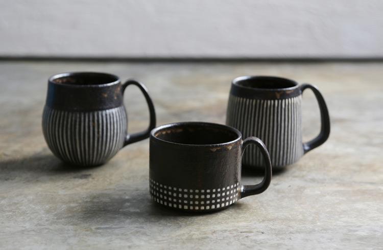 77 マグカップ(トクサ・角)