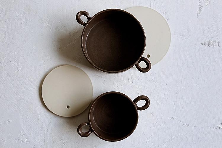丸オーブンパン 深(S)茶