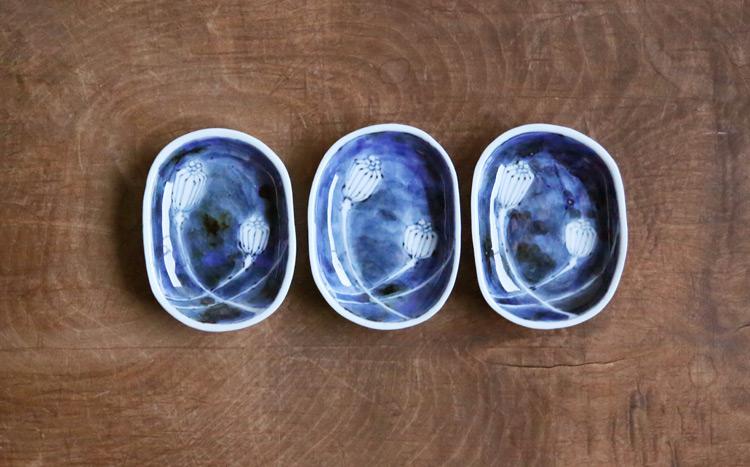 芥子果文豆皿