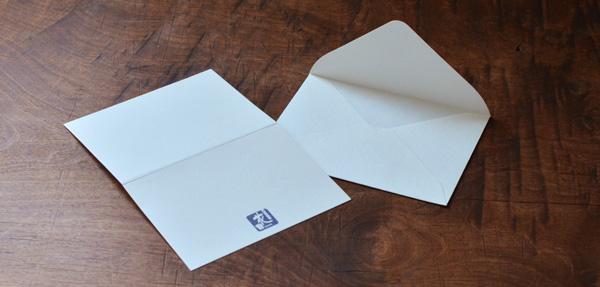 オリジナルメッセージカード