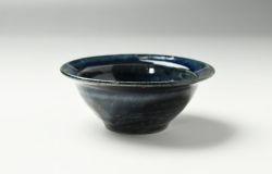 黒ゴス4寸リム小鉢
