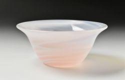 反り小鉢(桜色)