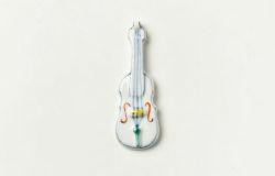 箸置 バイオリン