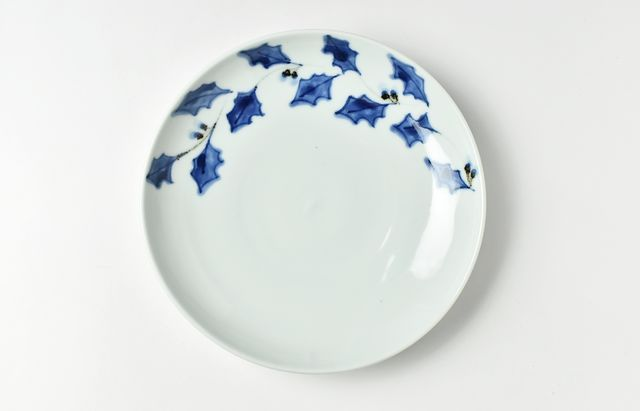 季節変り6.5寸皿 柊