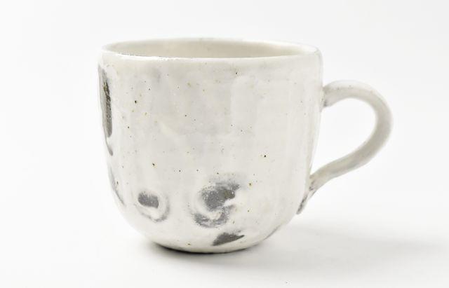 粉引鎬マグカップ